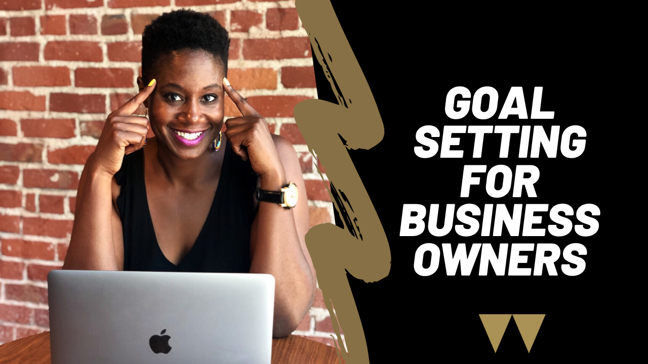 An image with the text Goal Setting for Business Owners