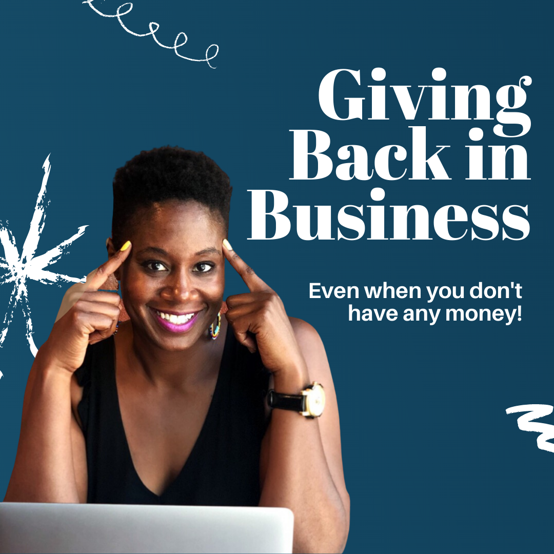 YouTube Cover for Giving Back In Business